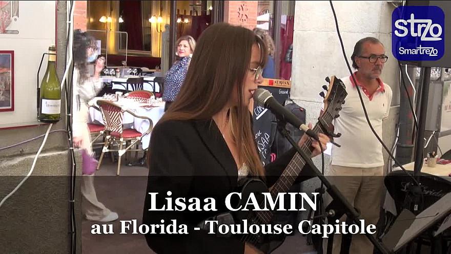 TV Locale Toulouse Smartrezo : ITW de la chanteuse Lisaa CAMIN au Florida place du Capitole