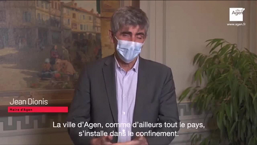 Point Covid N°9 de Jean Dionis Maire d'Agen @jeandionis @villeagen