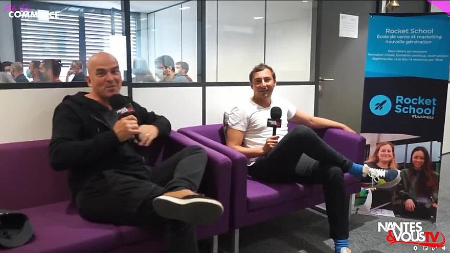 TV Locale Nantes & Vous sur Smartrezo :  Rocket School, l'école supérieure différente