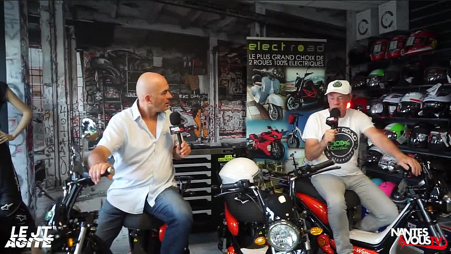 TV Locale Nantes sur Smartrezo :   JT Agité spécial mobilité électrique avec  Electroad